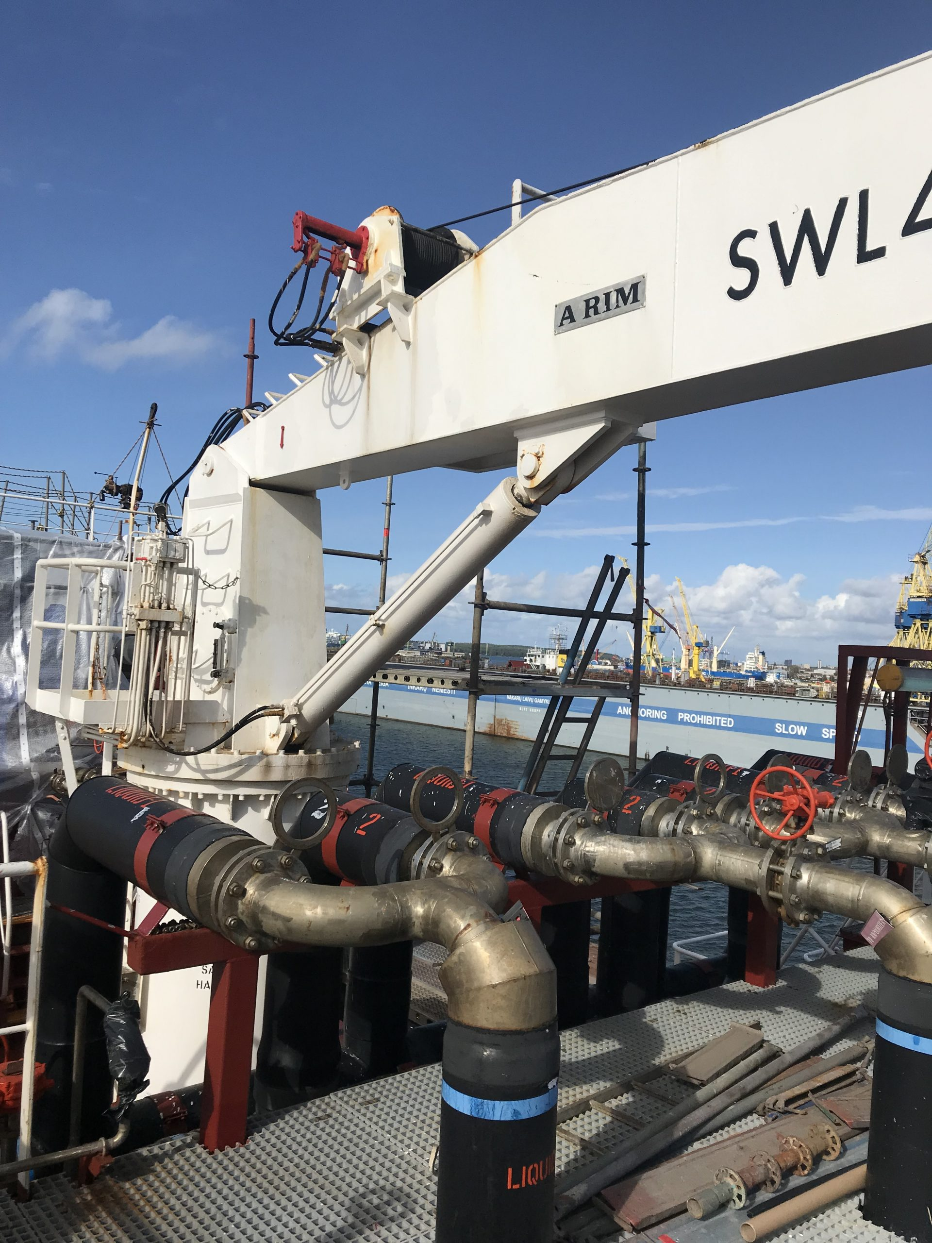 Dredger piping system renewal